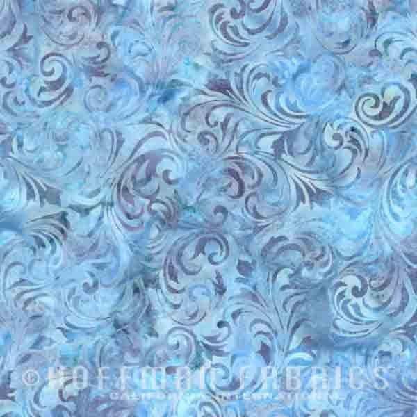 Bali Batik Tonal Swirls Hydrangea