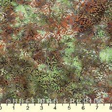 Bali Batik Cantalope Texture Caterpillar