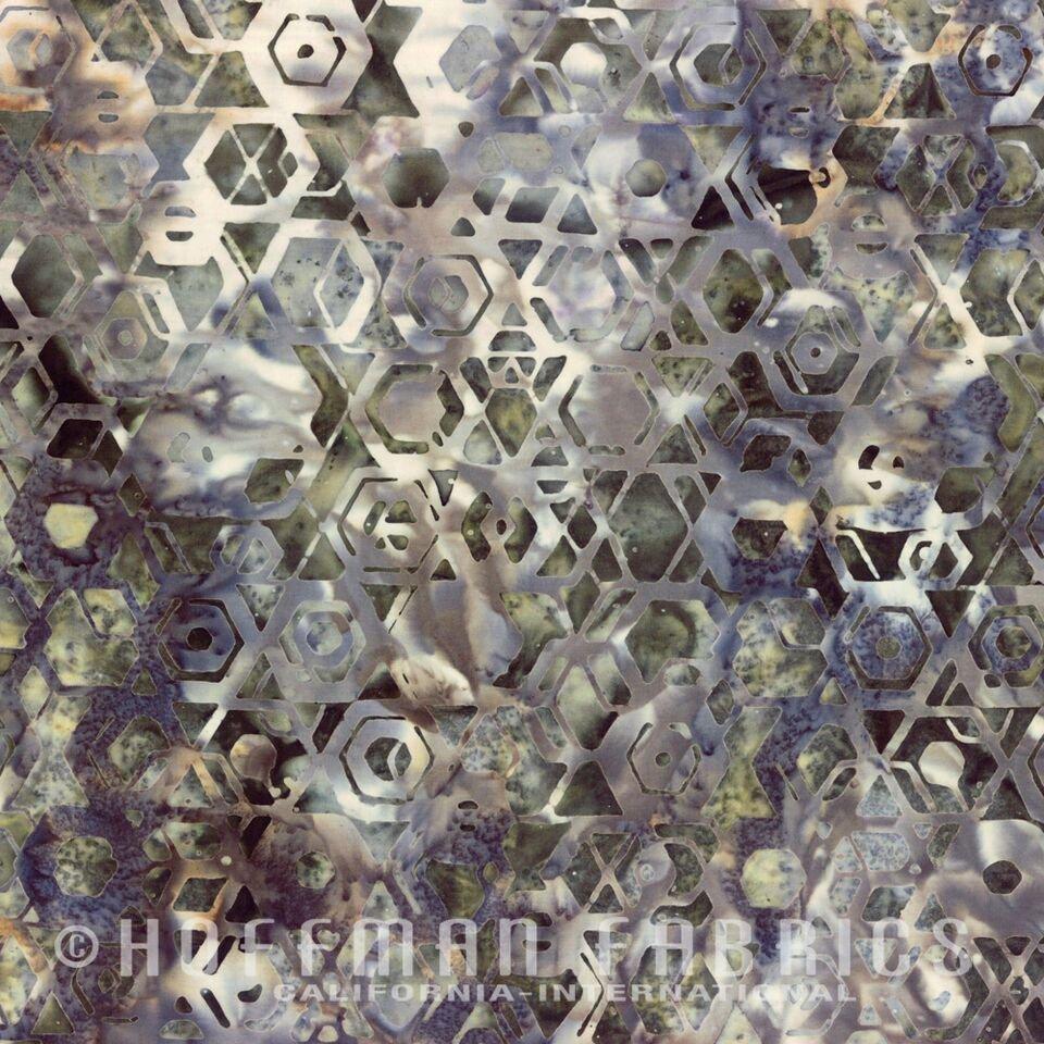 Bali Batik Hexagons Seagull