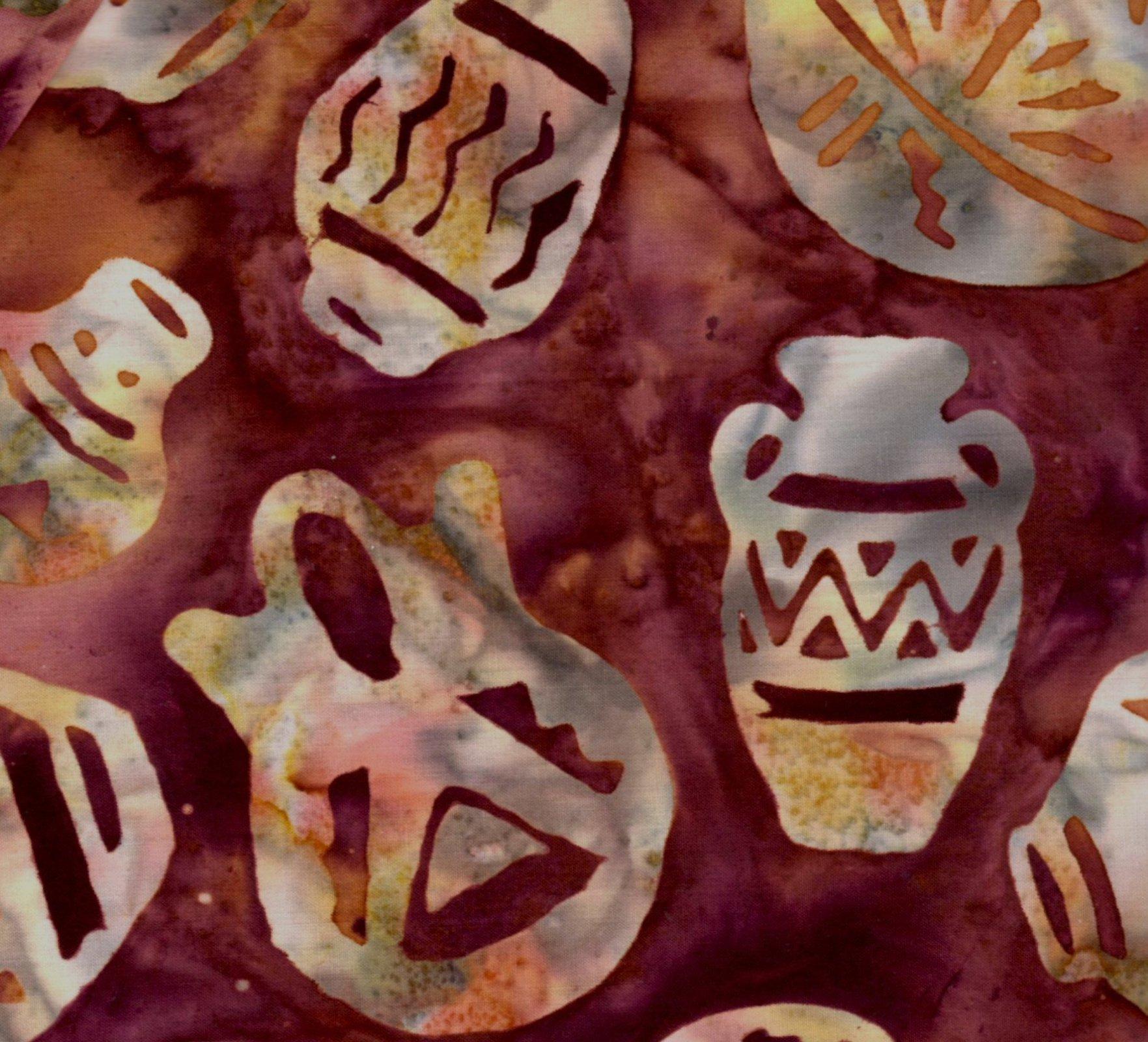 Southwest Pots Batik - Rustica
