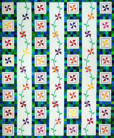 Perennial Pinwheels by Happy Stash Quilts