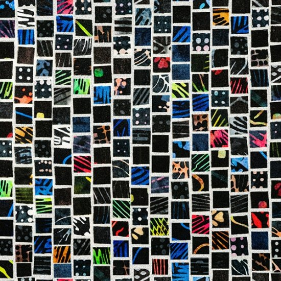 Mosaic Masterpiece - Blacklight