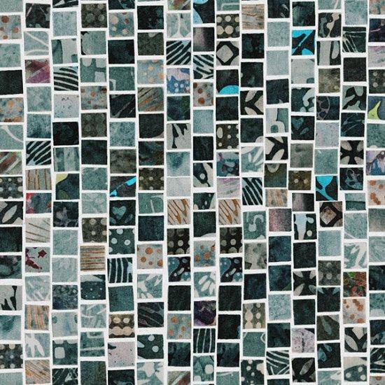 Mosaic Masterpiece - Charcoal