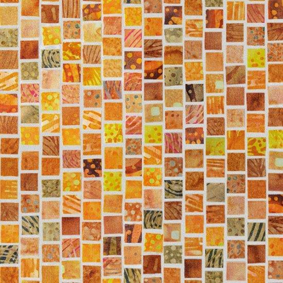 Mosaic Masterpiece - Gold Ochre