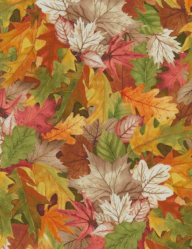 Digital Birch Tree Leaves