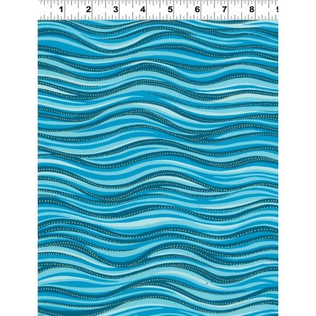 Laurel Burch Basic Wave Aqua