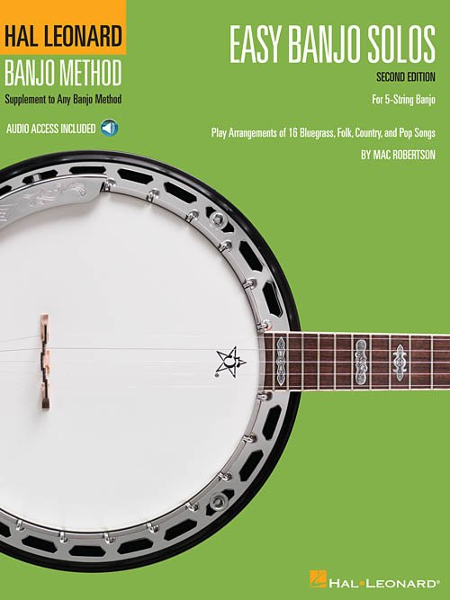 EASY BANJO SOLOS SECOND EDITION BOOK