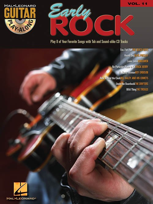 EARLY ROCK PLAY ALONG VOLUME 11 BOOK