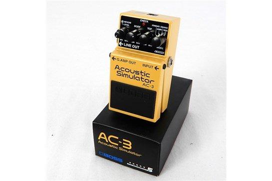 BOSS AC-3 ACOUSTIC SIMULATOR GUITAR PEDAL