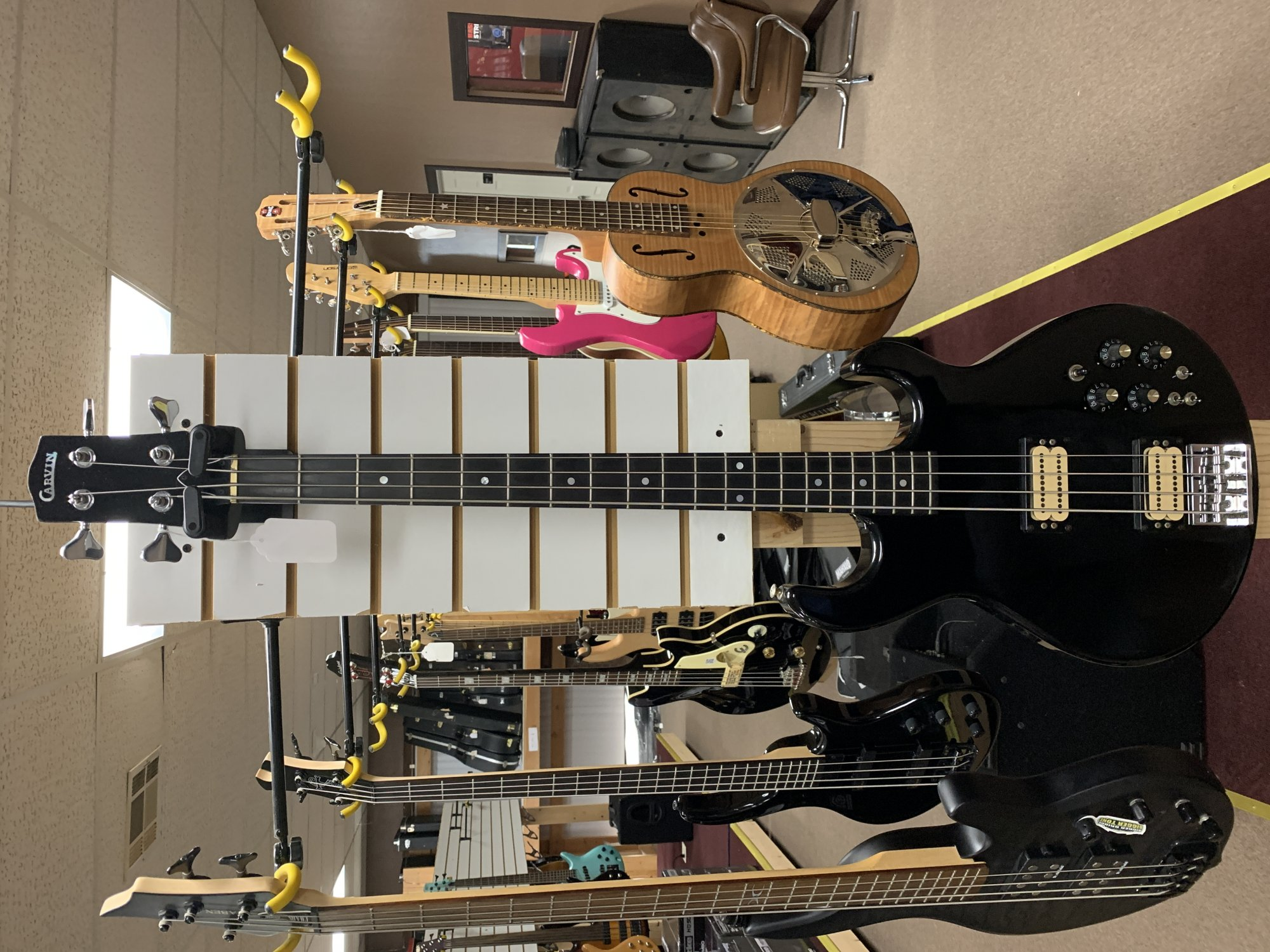 Used Carvin 4 String Electric Bass Guitar
