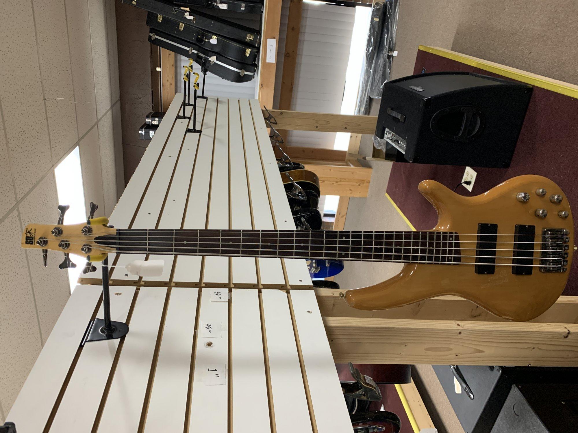 Used Ibanez SDGR SR405 Bass guitar