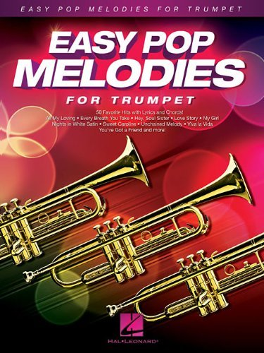 EASY POP MELODIES FOR TRUMPET BOOK