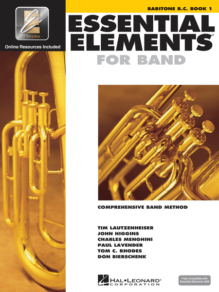ESSENTIAL ELEMENTS BARITONE BC BOOK 1