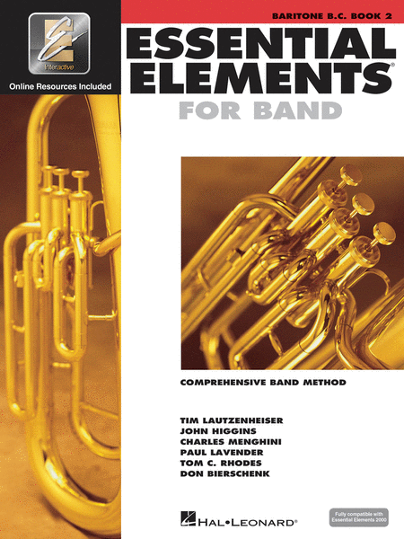 ESSENTIAL ELEMENTS BARITONE BC BOOK 2