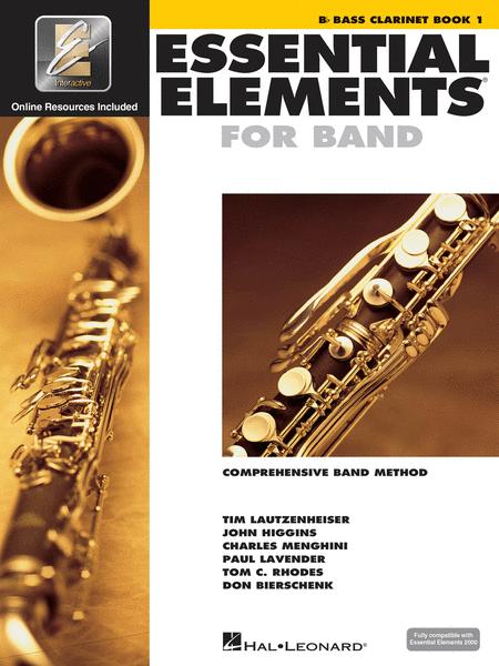 ESSENTIAL ELEMENTS Bb BASS CLARINET BOOK 1