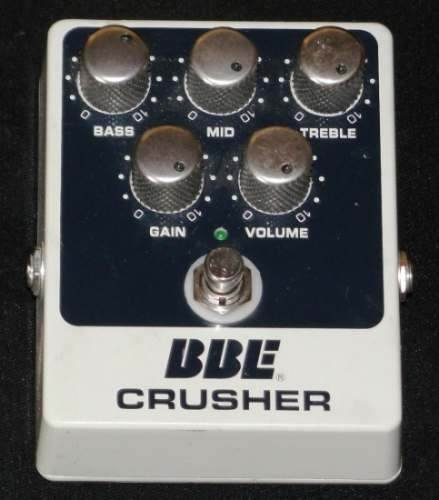 BBE CRUSHER GUITAR PEDAL