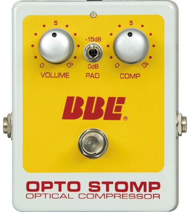 BBE OPTO STOMP GUITAR PEDAL