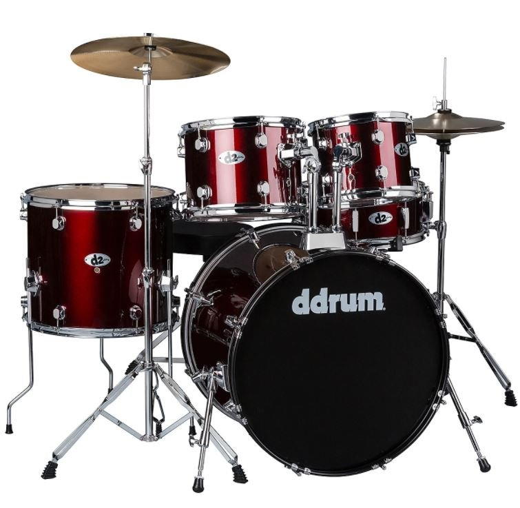 DDRUM D120B BLOOD RED COMPLETE KIT