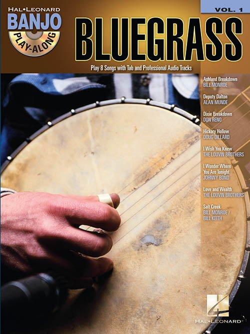 BLUEGRASS PLAY ALONG BOOK VOLUME 1
