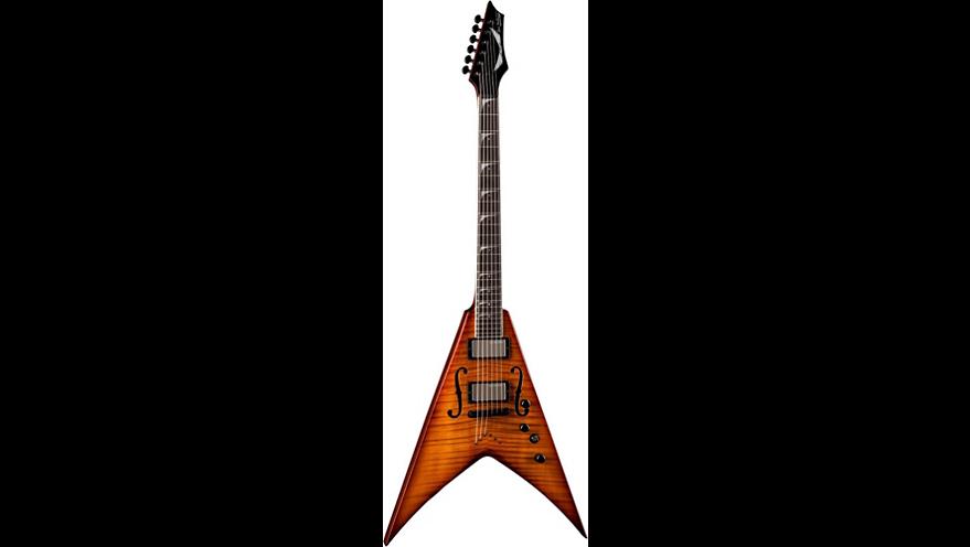 Dean Dave Mustaine V StradiVMNT Electric Guitar Vintage Sunburst