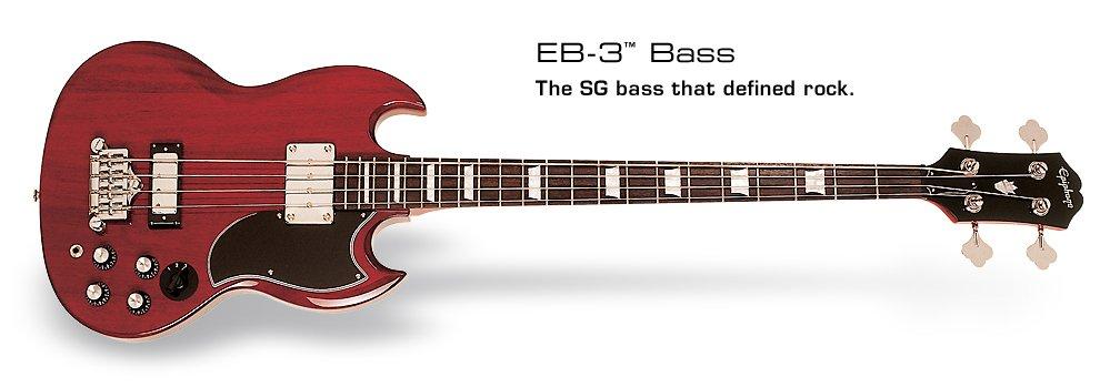 Epiphone SG-3 Electric Bass Guitar