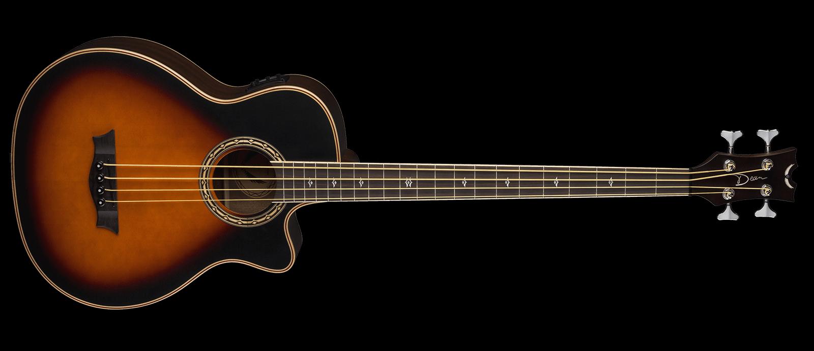 Dean Cutaway EABCS TSB Acoustic Bass