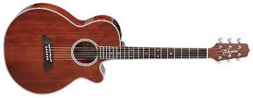 TAKAMINE EF261S AN ACOUSTIC/ELECTRIC GUITAR