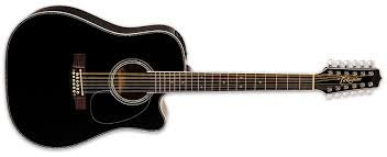 TAKAMINE EF381DX ACOUSTIC/ELECTRIC GUITAR