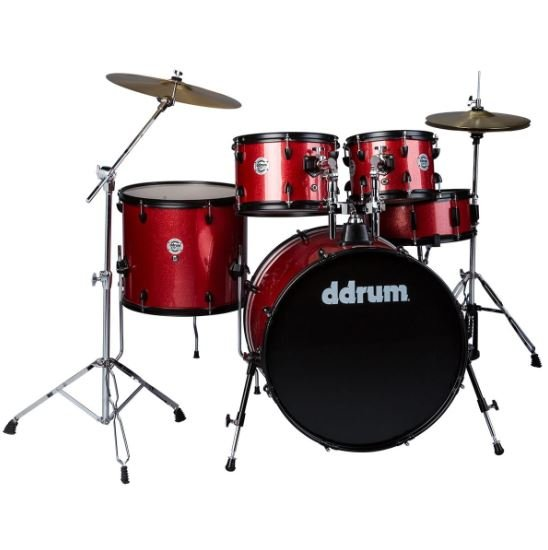 DDRUM RED SPARKLE COMPLETE KIT