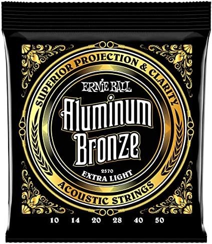 2570 ERNIE BALL ALUMINUM BRONZE EXTRA LIGHT
