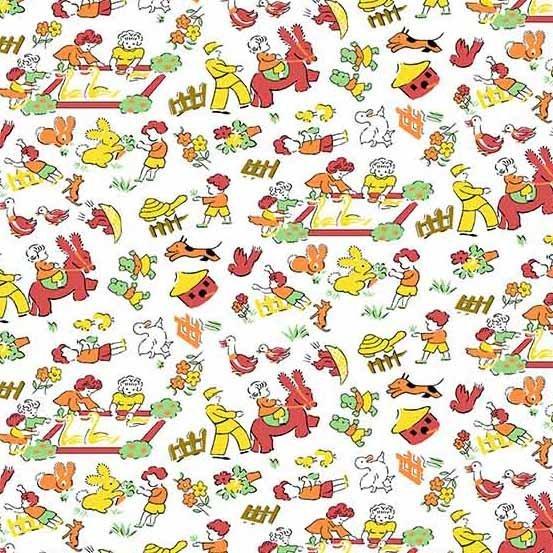 Andover Fabrics - Adeline A-8969-Y