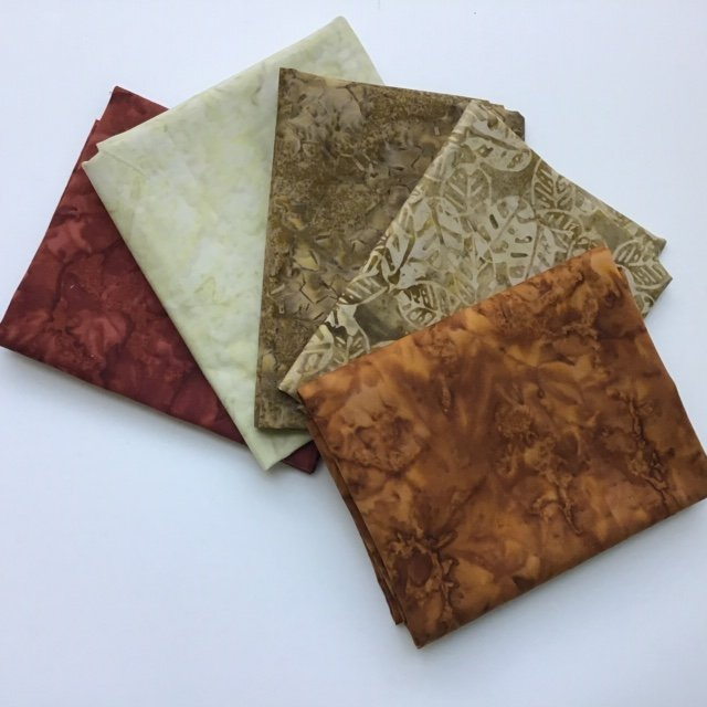 Fat Quarter Bundle 430 - Batiks