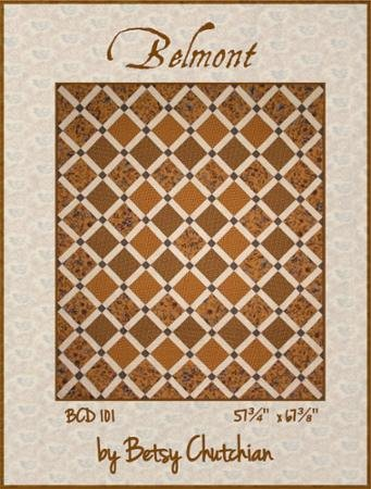 Belmont - By Betsy Chutchian - Pattern