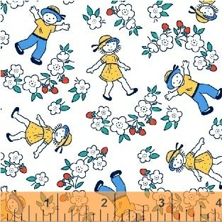 Bon Voyage - 42863 1 - Windham Fabrics - End of Bolt Sale - 18 inches