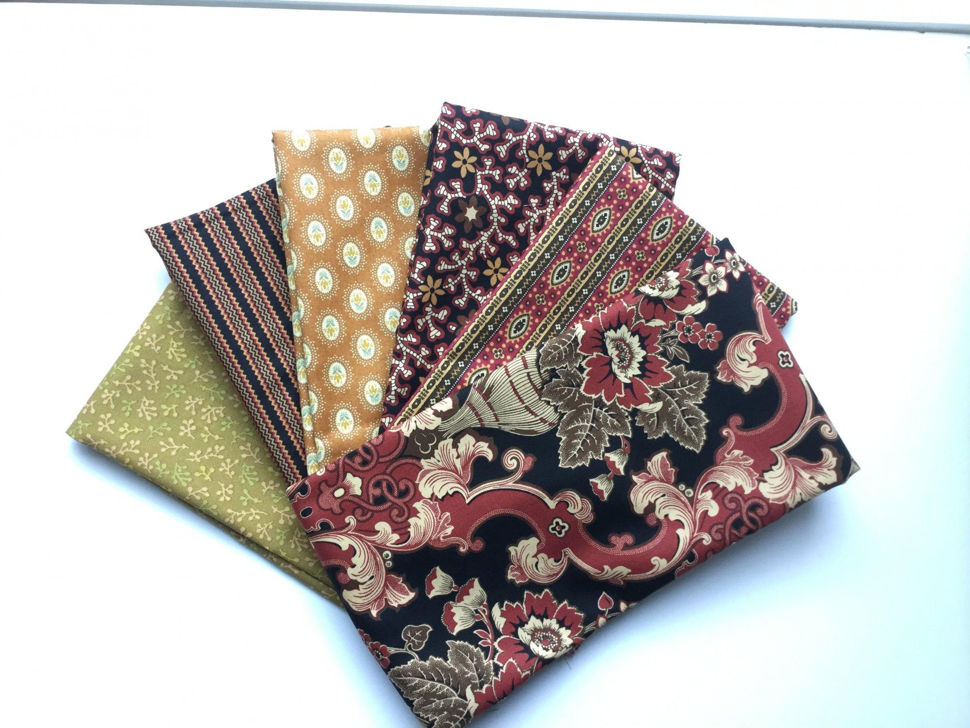 Fat Quarter Bundle  - Fall color palette