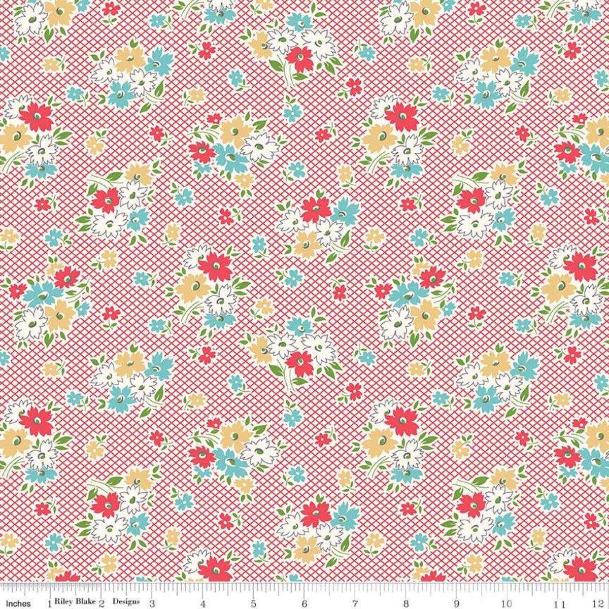 Riley Blake Designs  - Farm Girl Vintage - C7870 Red