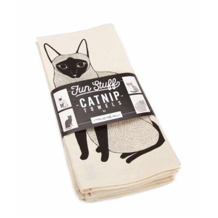 Fun Stuff - Catnip Towels - Set of 4