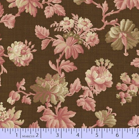 Marcus  Fabrics - Chalk & Timber  - Dolores Smith R54 8215 0126