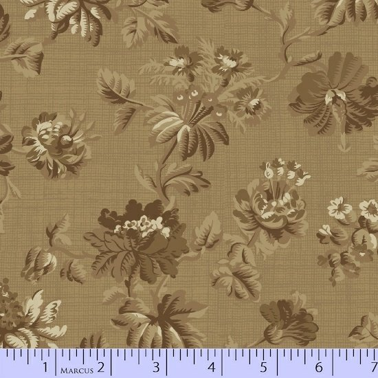 Marcus  Fabrics - Chalk and Timber  - Dolores Smith R54 8215 0190