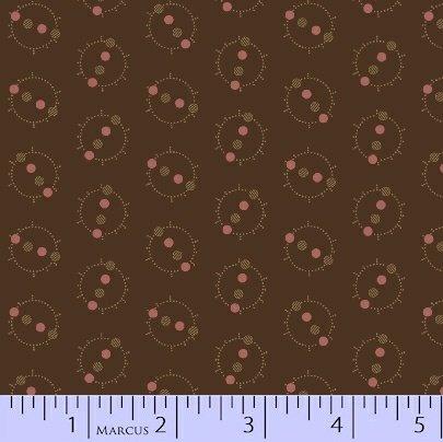 Marcus  Fabrics - Chalk & Timber  - Dolores Smith R54 8217 0113