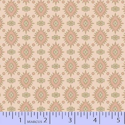 Marcus  Fabrics - Chalk & Timber  - Dolores Smith R54 8218 0159