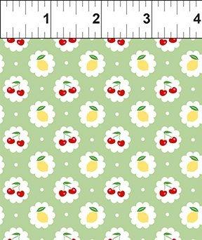 In The Beginning Fabrics - Cherry Lemonade - 5CL2