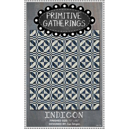 Indicon - Quilt Pattern - Primitive Gatherings
