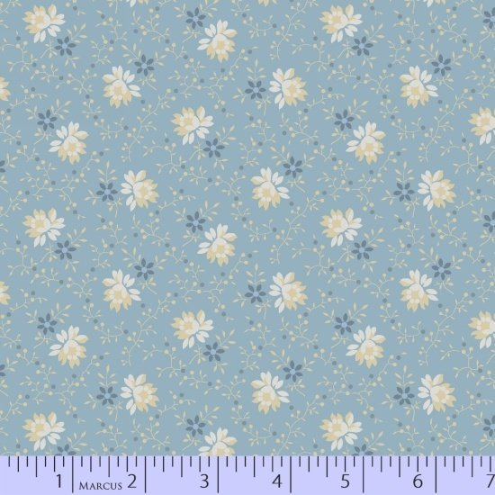 Marcus  Fabrics - Pointe Pleasant - Nancy Rink - R15 5663 0122 - End of Bolt Sale 35 inches