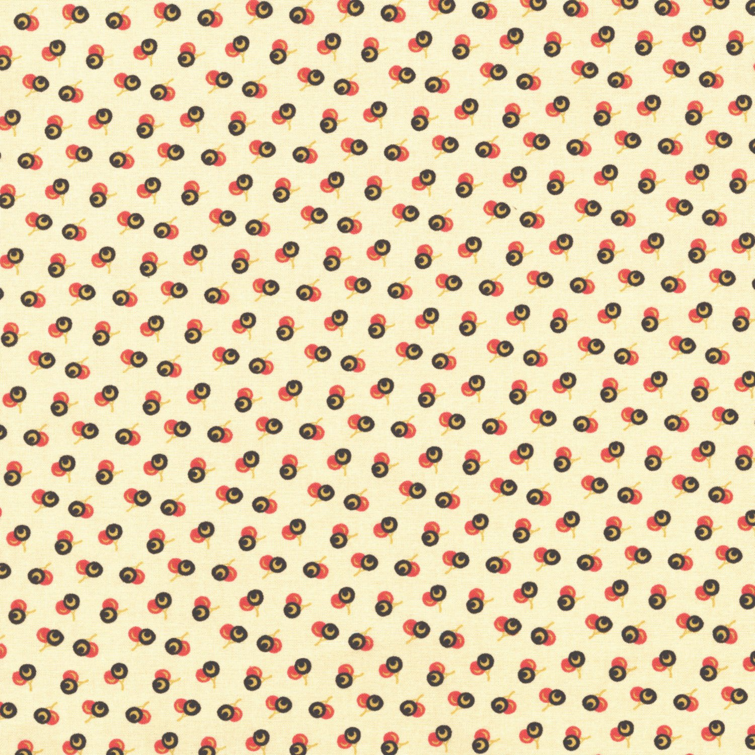 RJR Fabrics  - Chocolate and Bubblegum -  2723 002