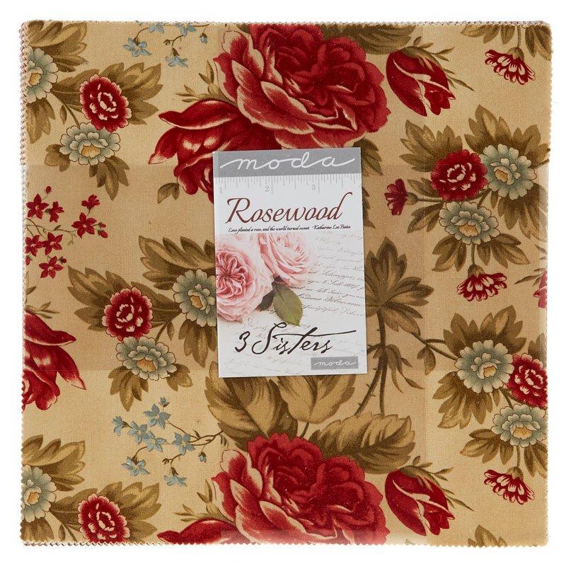 Moda - Rosewood - Layer cake - 44180 LC