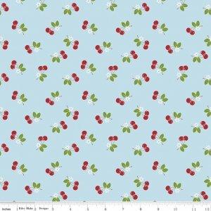 Riley Blake Designs - Sew Cherry 2 - Lori Holt - C5804 Aqua