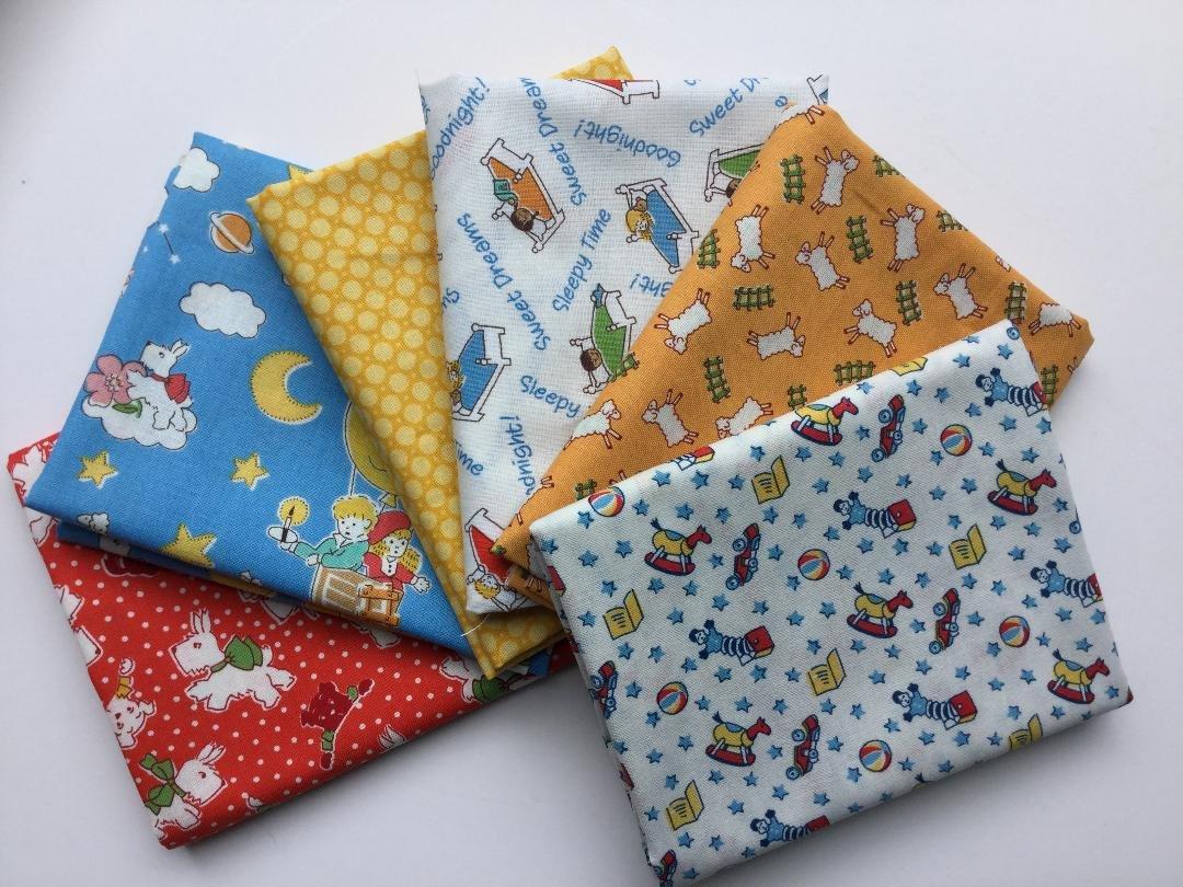 Fat Quarter Bundle - Windham Fabrics  - Sleepy Time