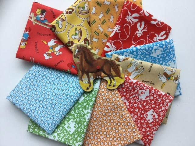 Fat Quarter Bundle of 10 - Windham Fabrics  - Storybook Rance