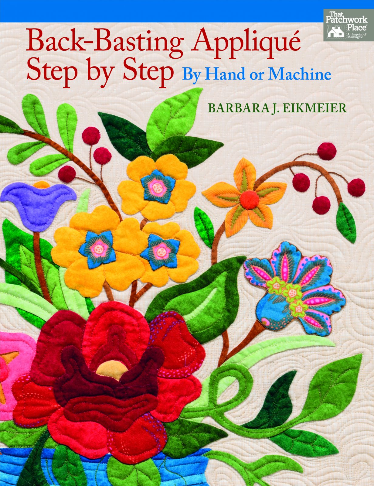 Back Basting Applique Step By Step